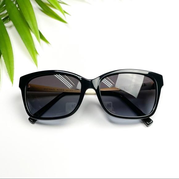 NEW MICHAEL KORS Antonella Gold & Black Sunglasses